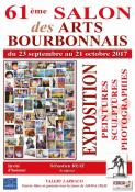 Affiche salon arts bourbonnais 2017